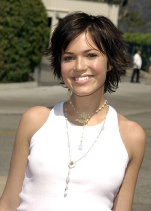 Mandy Moore Short Haircut